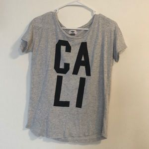 Cali graphic tee